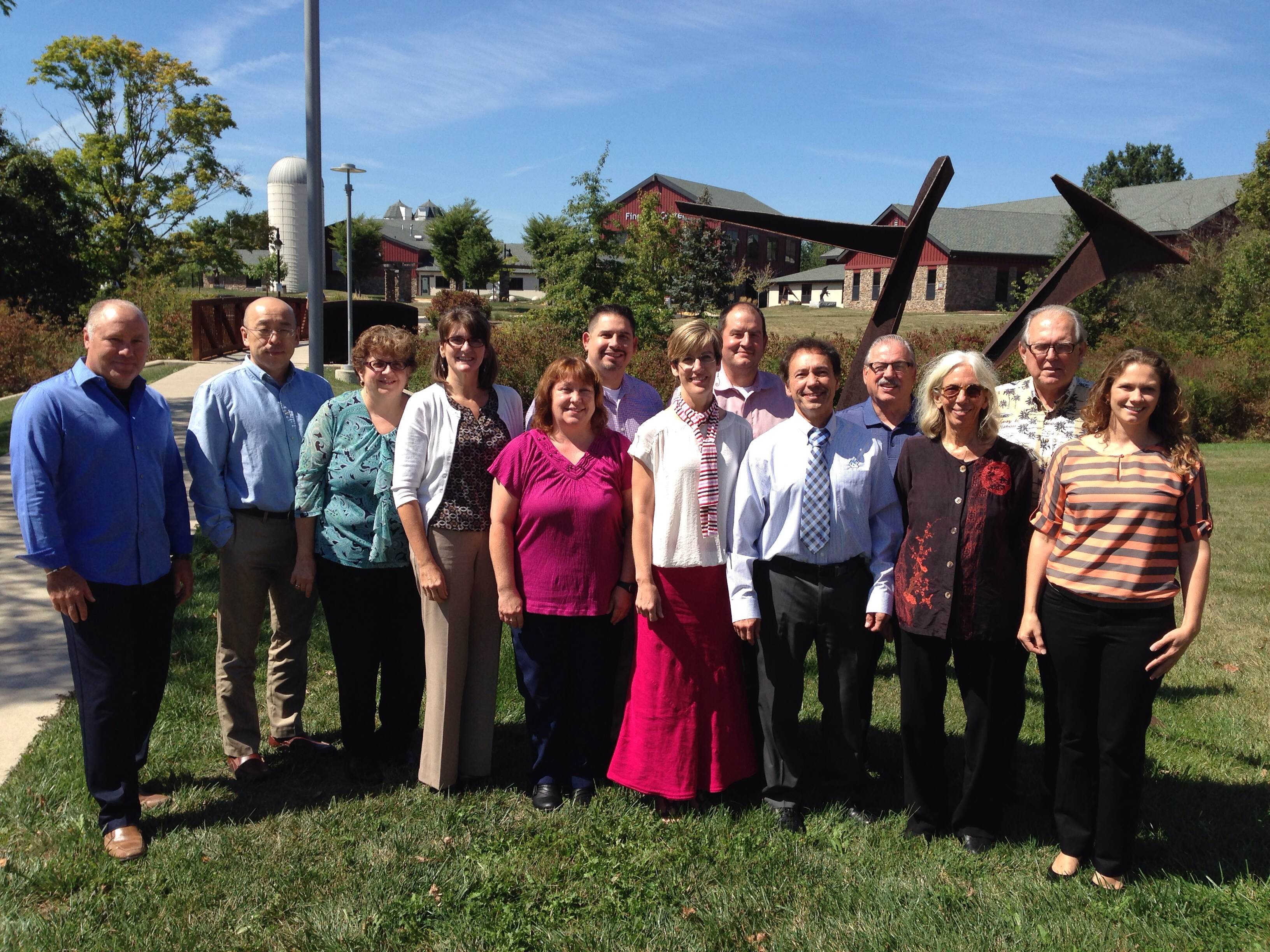 The NBC2 Advisory Board met on September 12, 2014, to discuss recent events, accomplishments and upcoming activities.